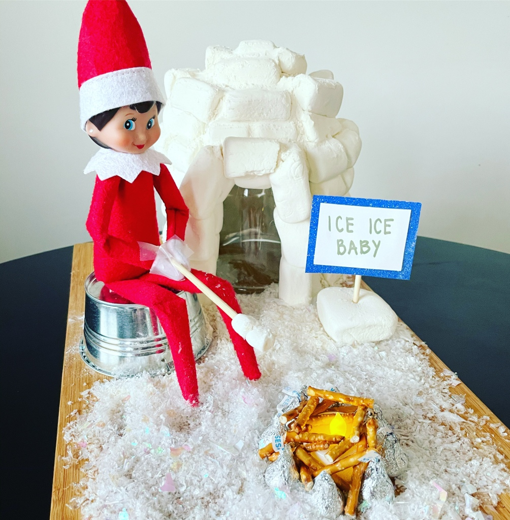 Elf on the Shelf - Ice Ice Baby