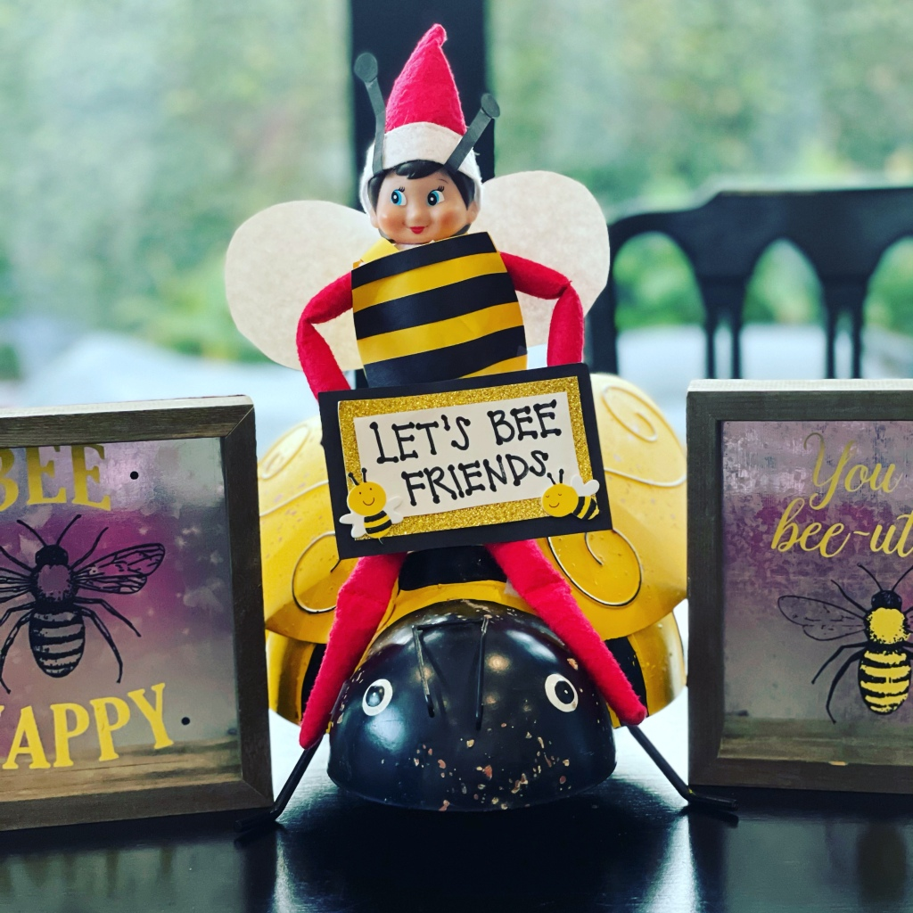 Elf on the Shelf - Let's Bee Friends